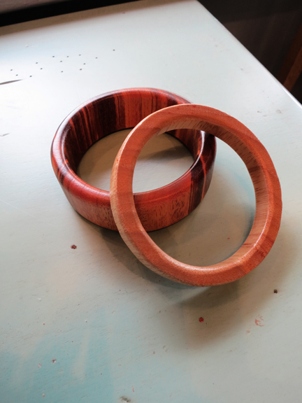 Shop Talk - Wood Bangles