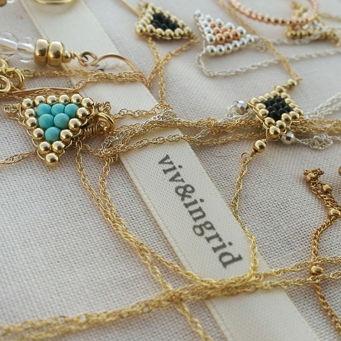 Viv&Ingrid Spring 2014 Sneek Peek - Jewelry Board