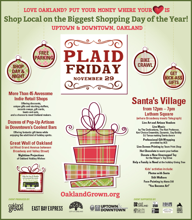 Plaid Friday Flier