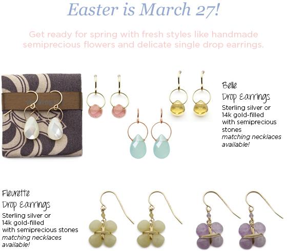 viv&ingrid Easter Basket Essentials #eastergifts #easter #easterjewelry #handmade