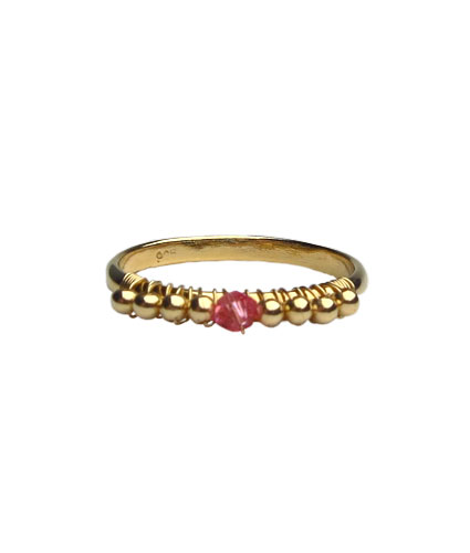 919bcf25951fa Swarovski Birthstone Ring October/Rose Swarovski R123
